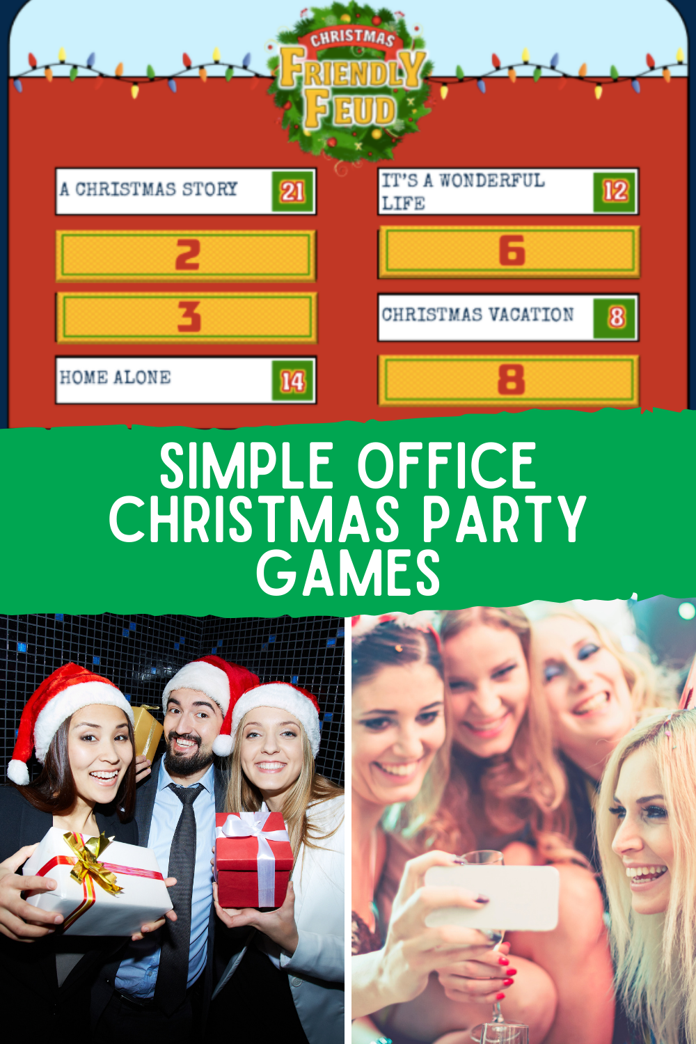 Simple Holiday Party Game Ideas For Work