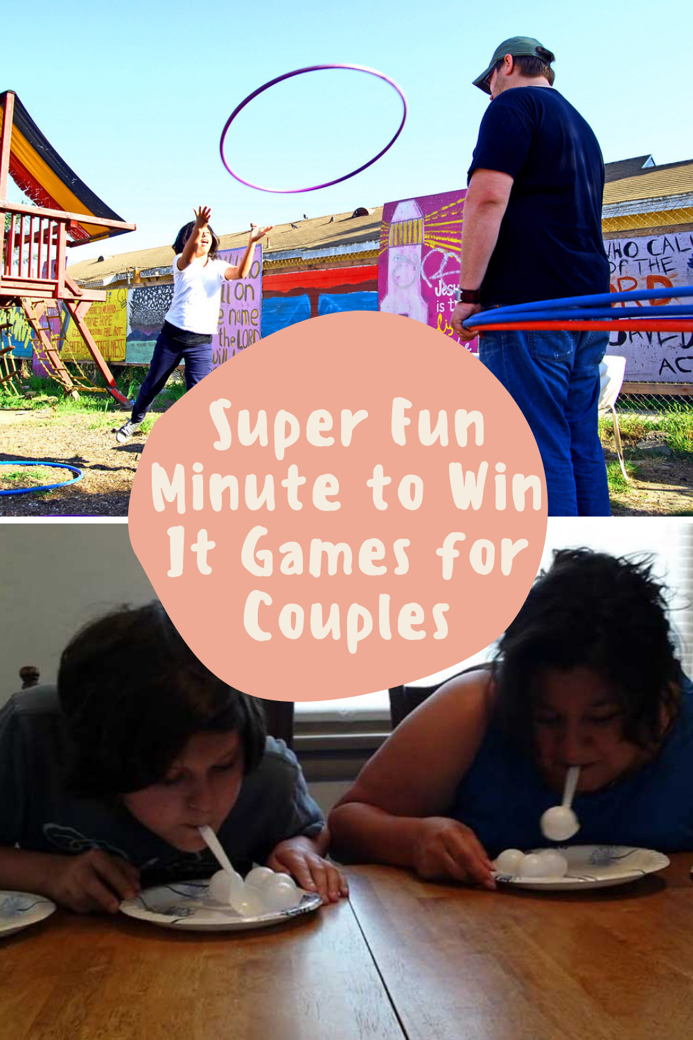 Minute to Win It Games for Couples To Play