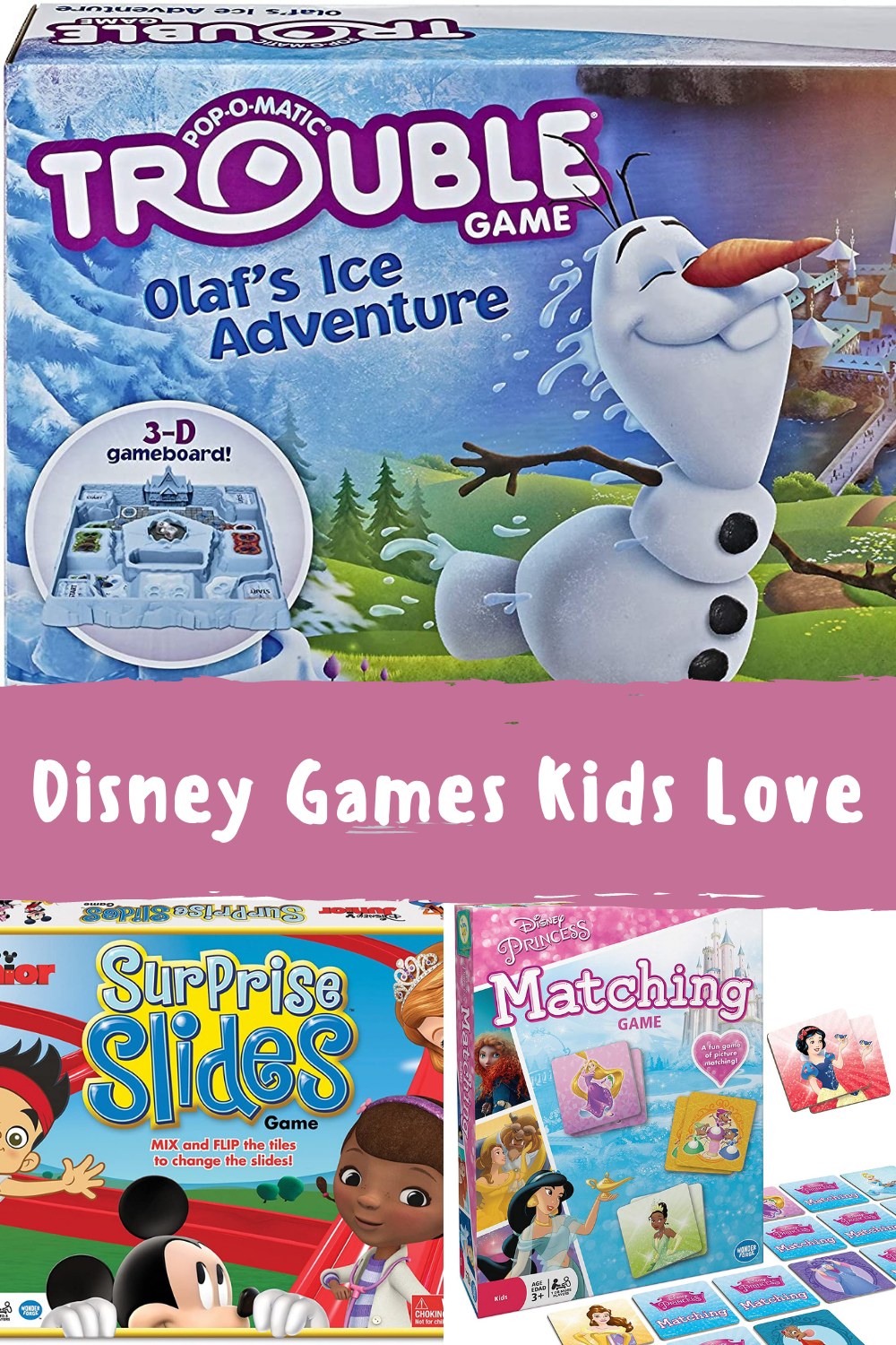 Disney Games For Toddlers To Play At Home