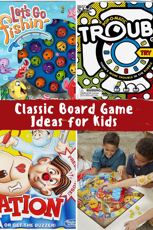 Classic Games for kids, homeschool games