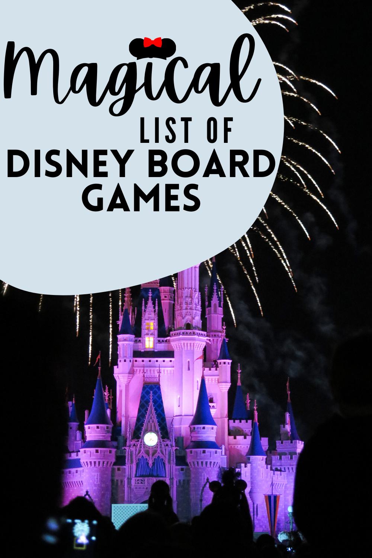 Magical Disney Board Games