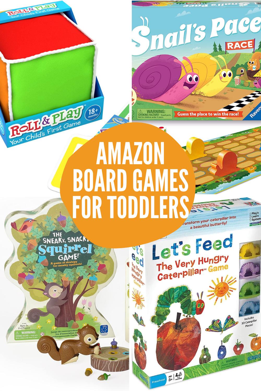 Toddler Board Games Amazon Games
