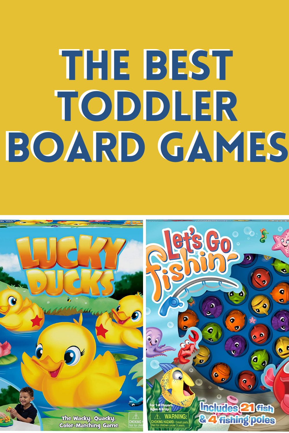 The Best Toddler Board Games For Gifts & Playing