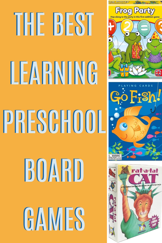 Counting Preschool Board Games