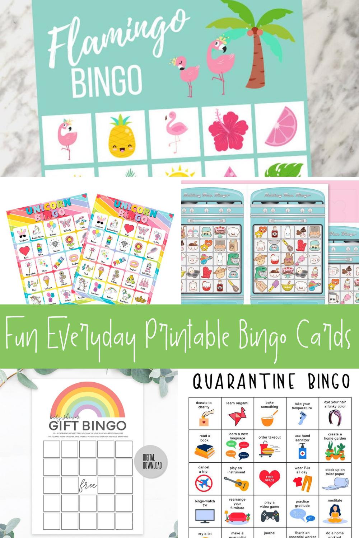 Free Printable Bingo Games For Fun Parties