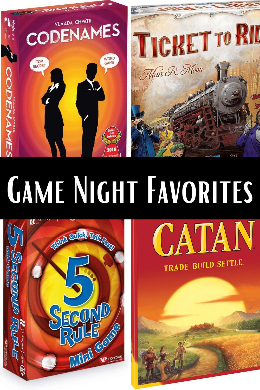 Game Night Favorites Board Games Best 2021