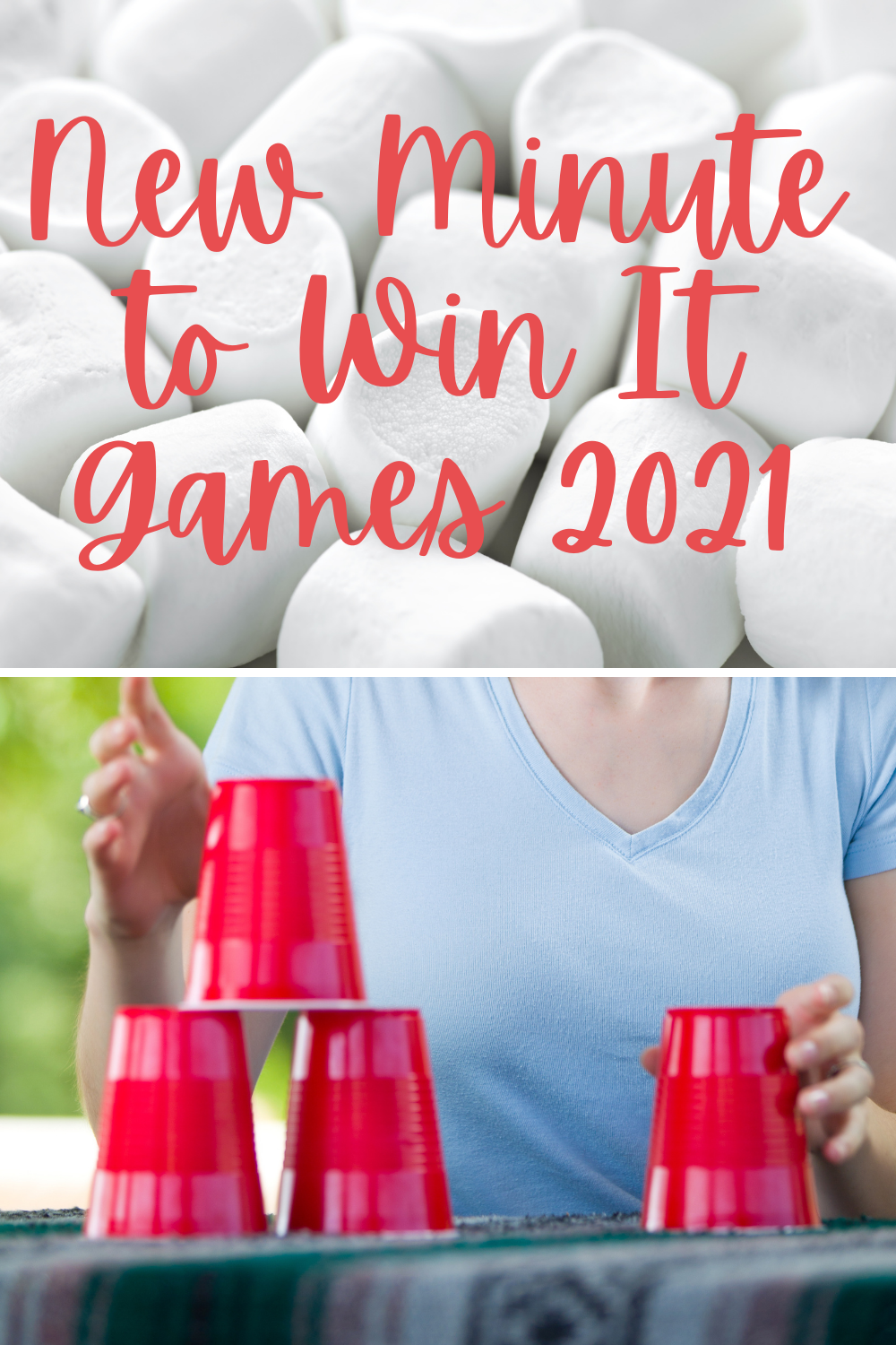 New Minute to Win It Games You Haven't Seen Before 2021