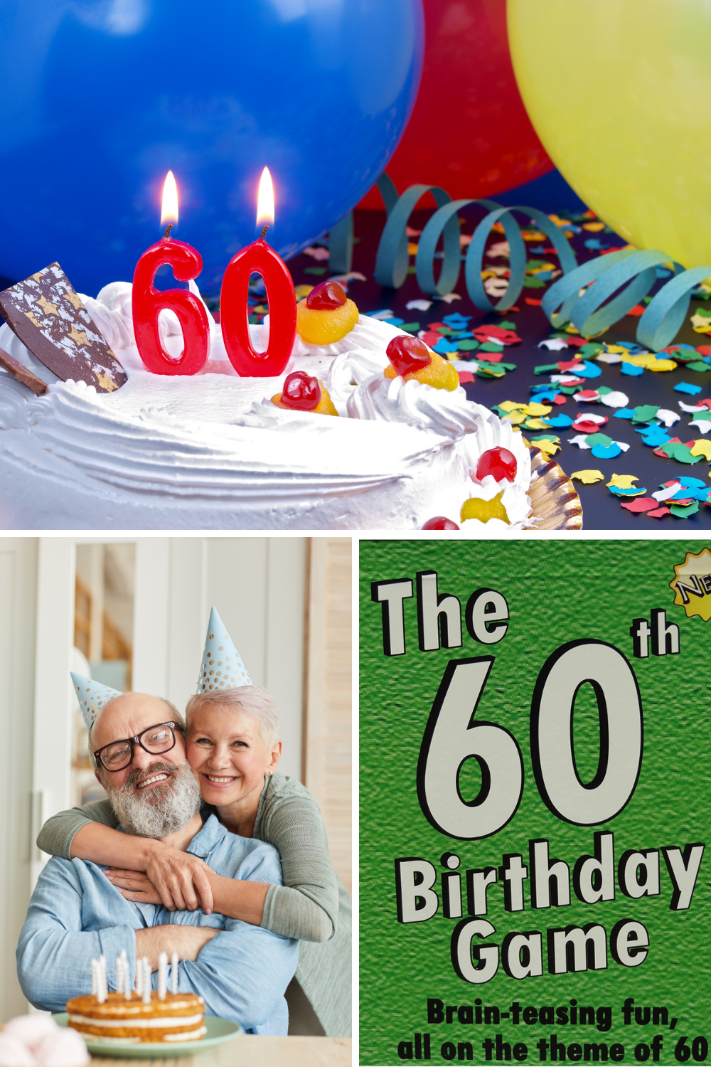 Creative 60th Birthday Party Games