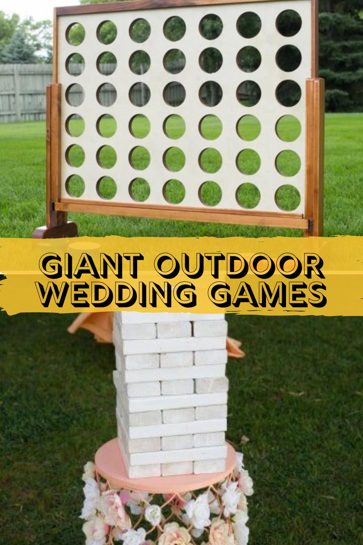Giant yard game