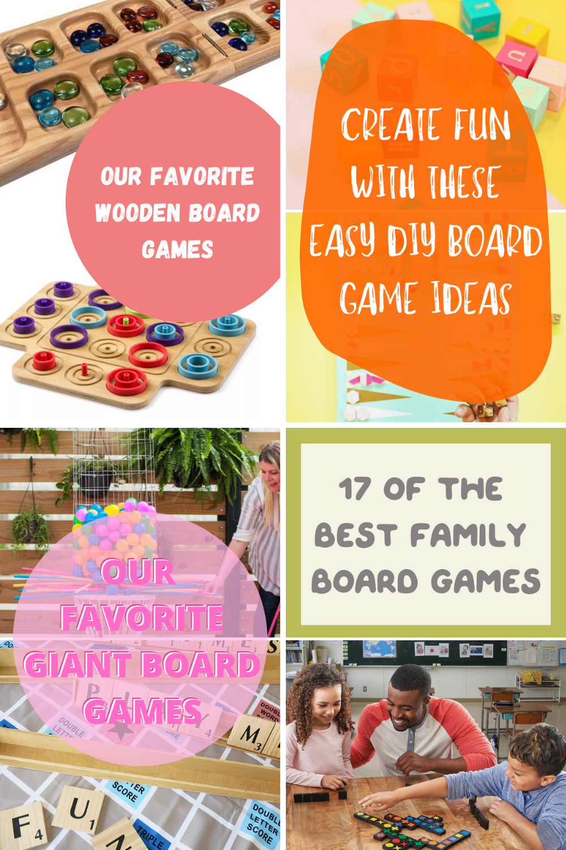 Top Board Games To DIY In 2021