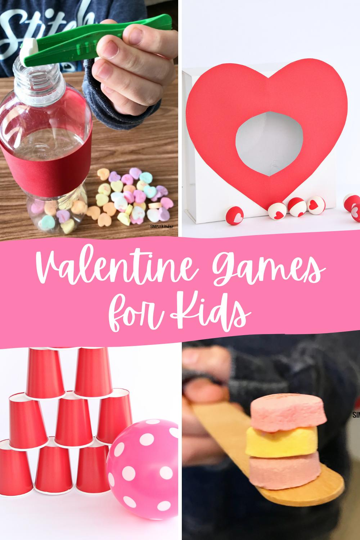 Easy Valentine Games for Kids