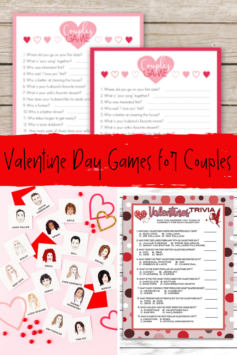 Romantic Couple Games To Print At Home