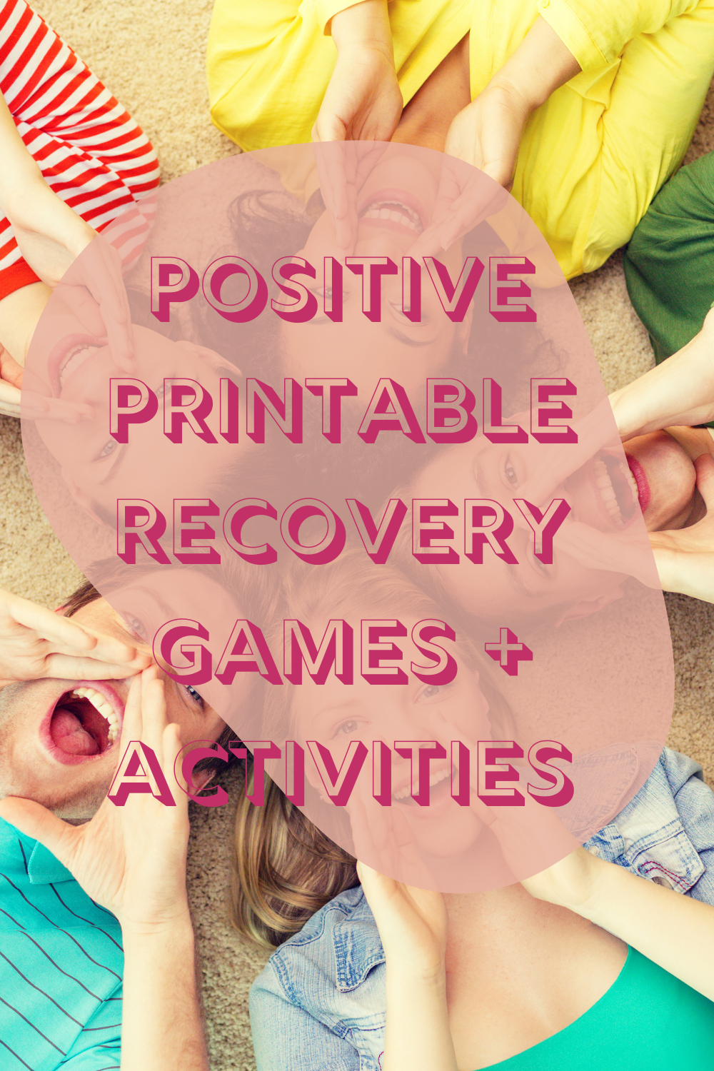 Printable Recovery Games