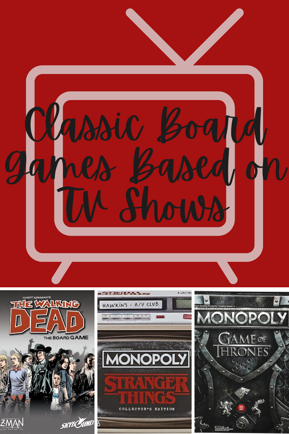 board games from Netflix shows