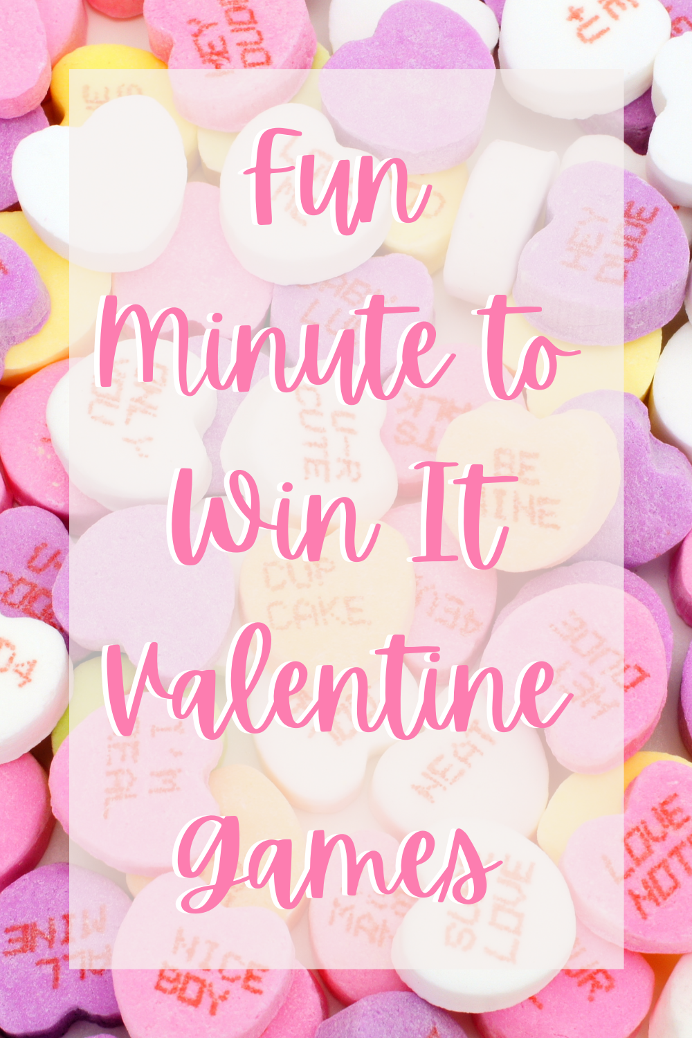 Minute to Win It Valentine Games