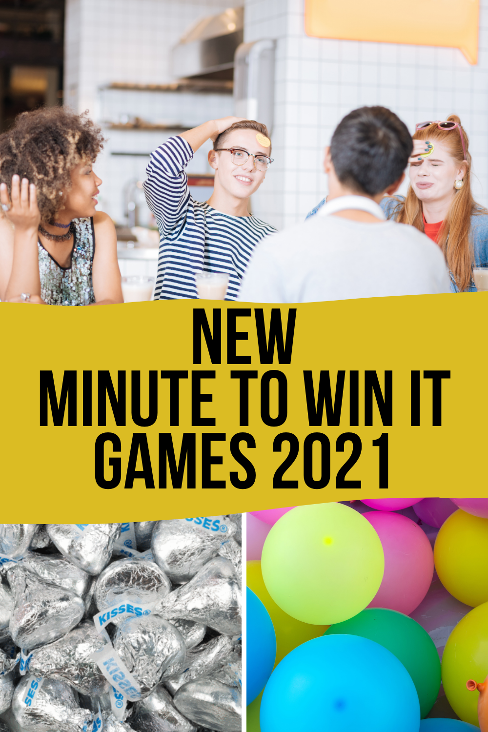 New Minute to Win It Games 2021