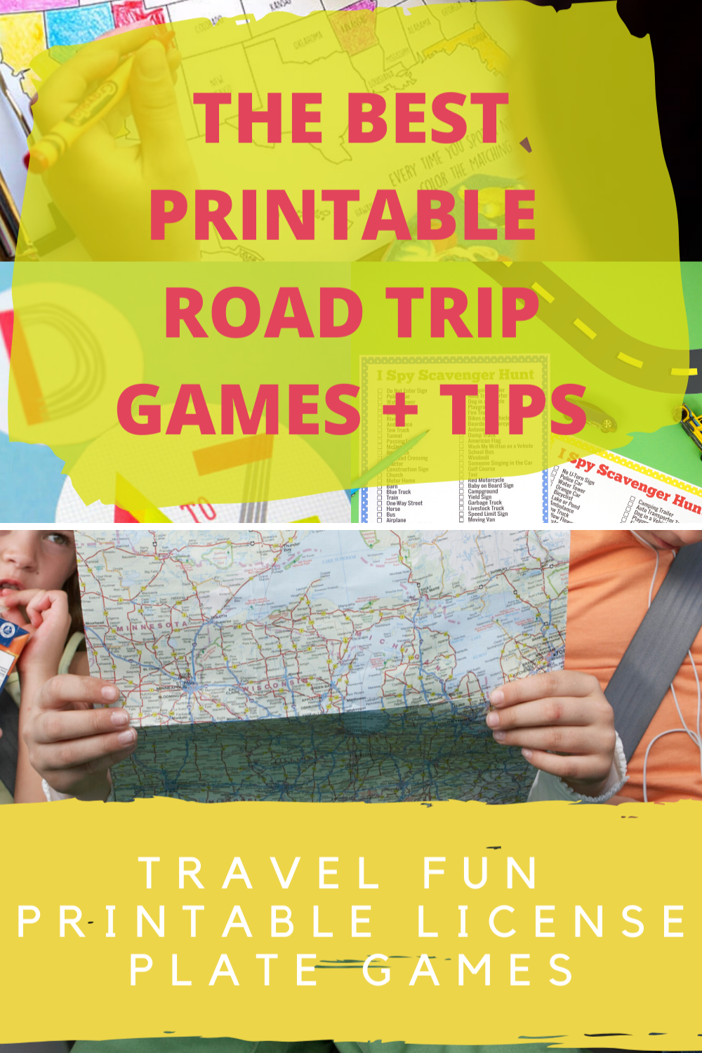 Travel Game Ideas That Are Printable At Home