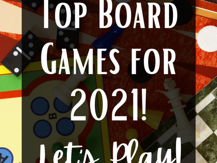 Top Board Games for 2021