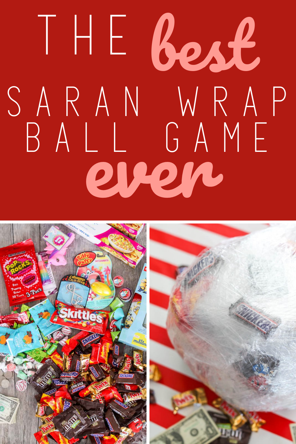 How To Play Saran Wrap Ball Game