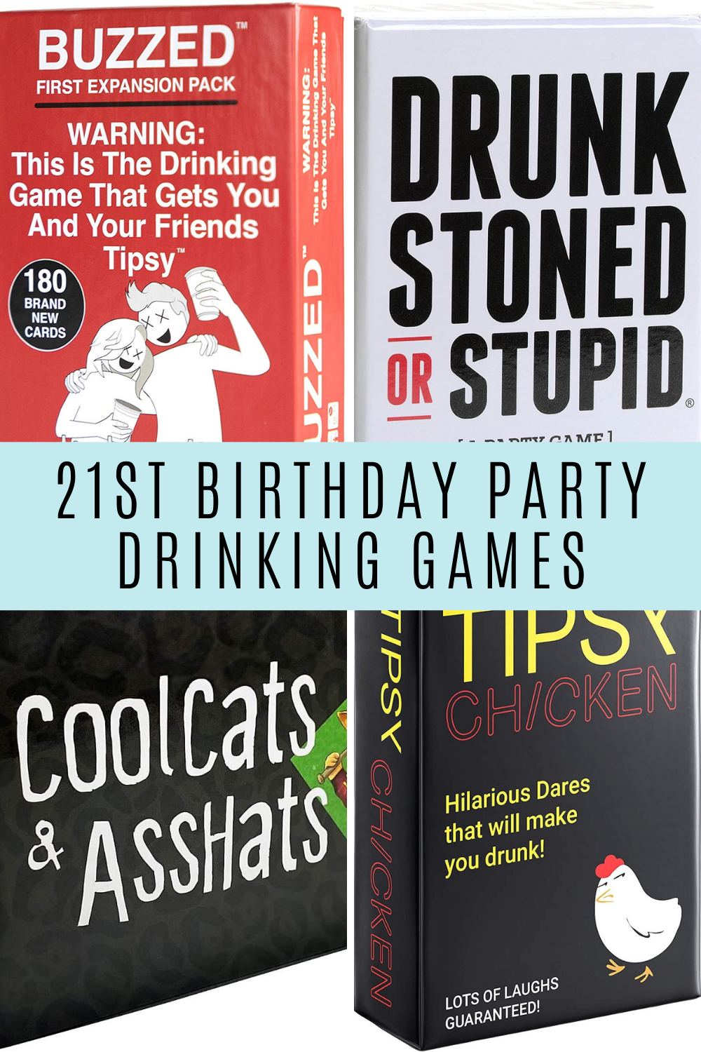 Drinking Game Ideas For Turning 21
