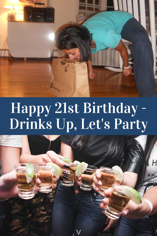 Happy 21st Birthday Party Games