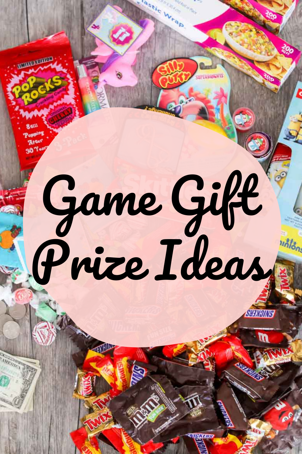 Saran Wrap game prize ideas