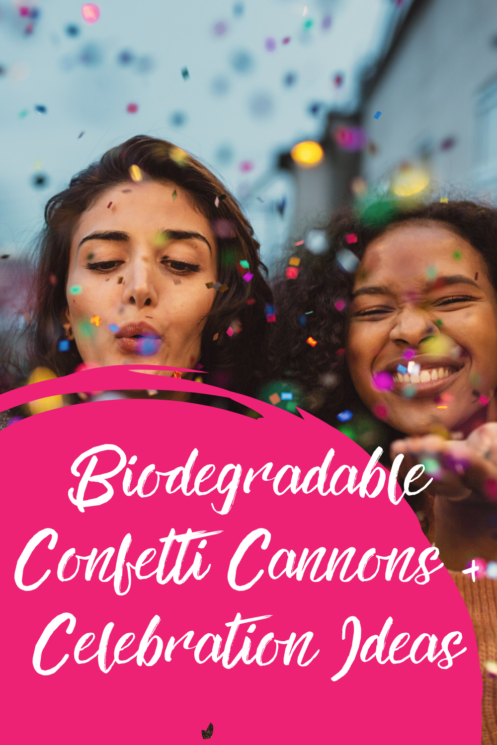 Biodegradable Confetti Cannons For Birthday Party Fun