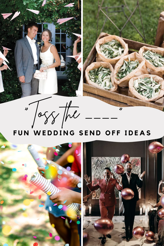 Fun Wedding Send Off Ideas To Leave Wedding Reception