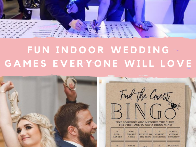 Indoor Wedding Games