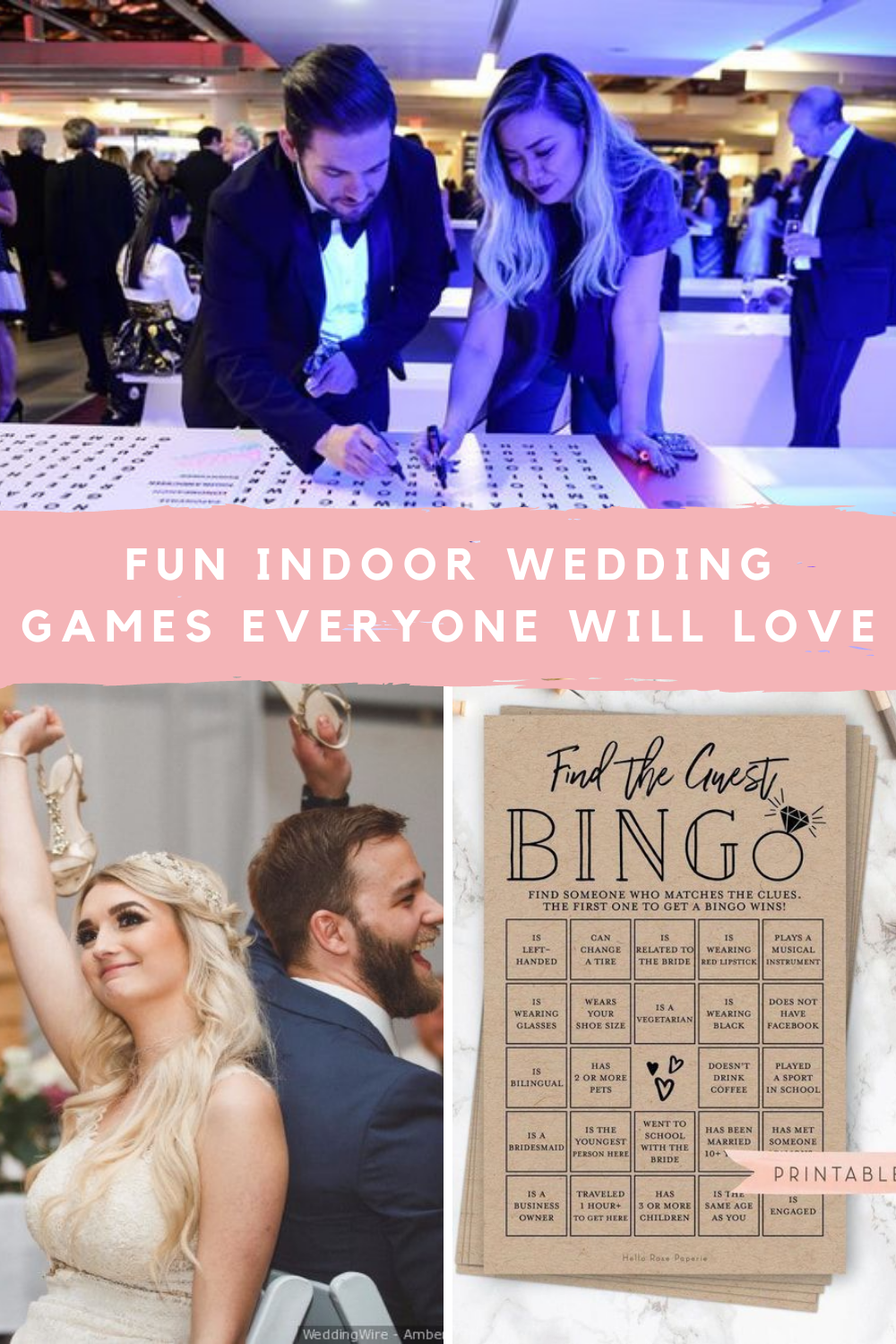 Indoor Wedding Games For Adults