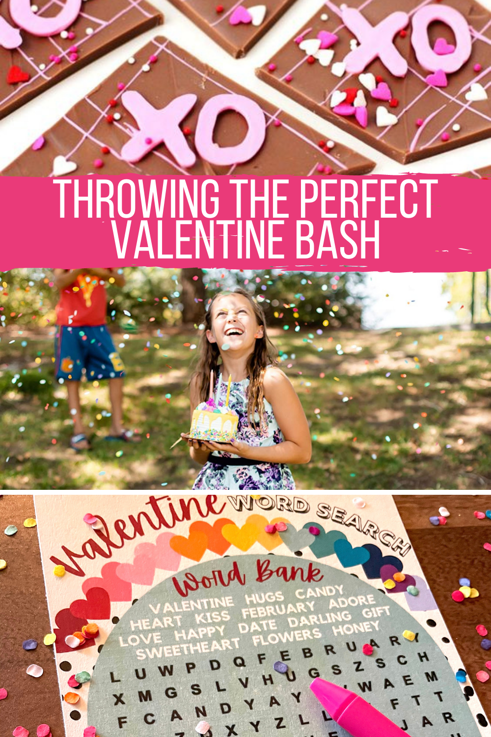 How to throw a valentine party with free printable games