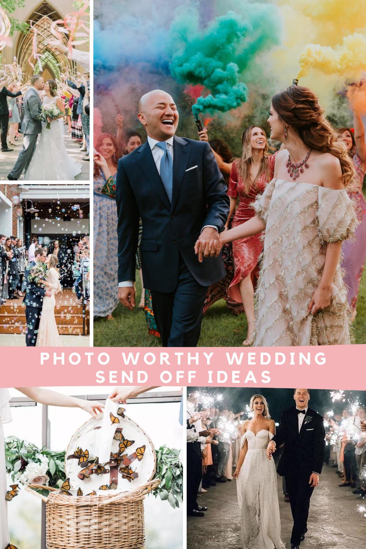 Unique Wedding Send Off Ideas You Haven't Seen Before