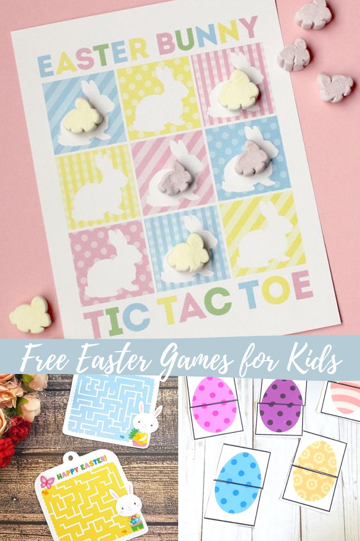 Free Printable Spring Game Ideas For Kids