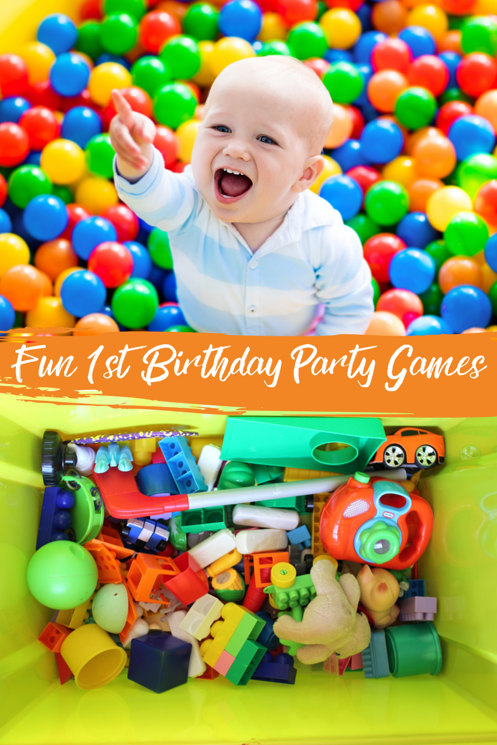 Toddler Party Ideas For First Birthday Party Games