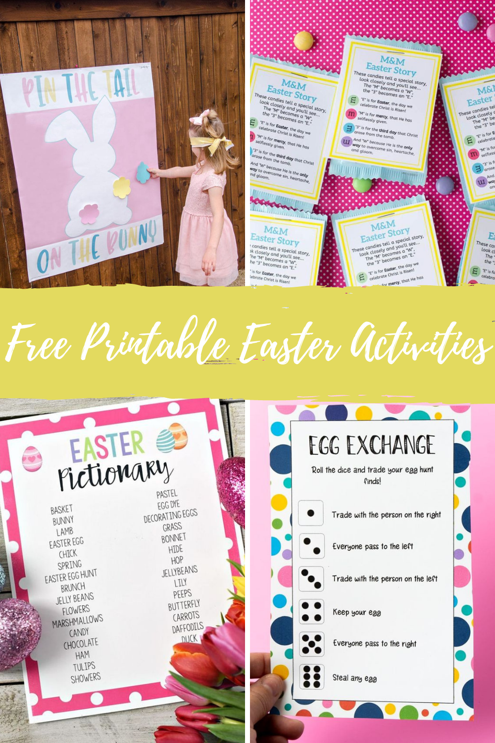 Printable Easter Game Party Activities