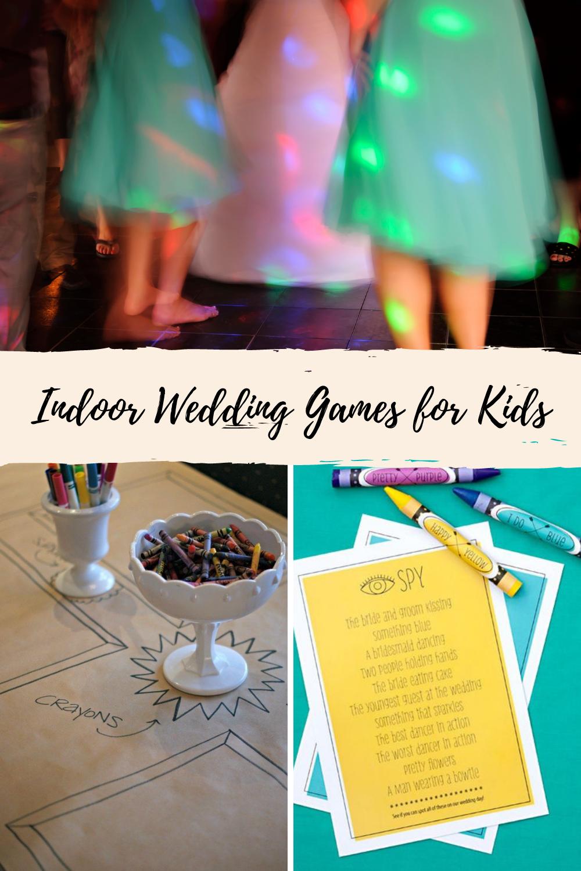 Indoor Wedding Games For Kids
