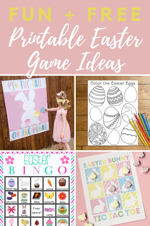 Printable Easter Games