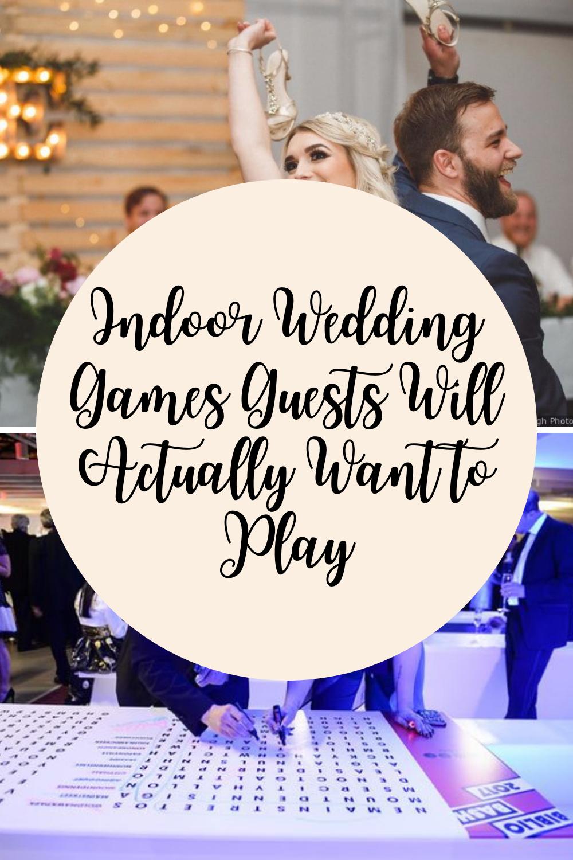 Indoor Wedding Games