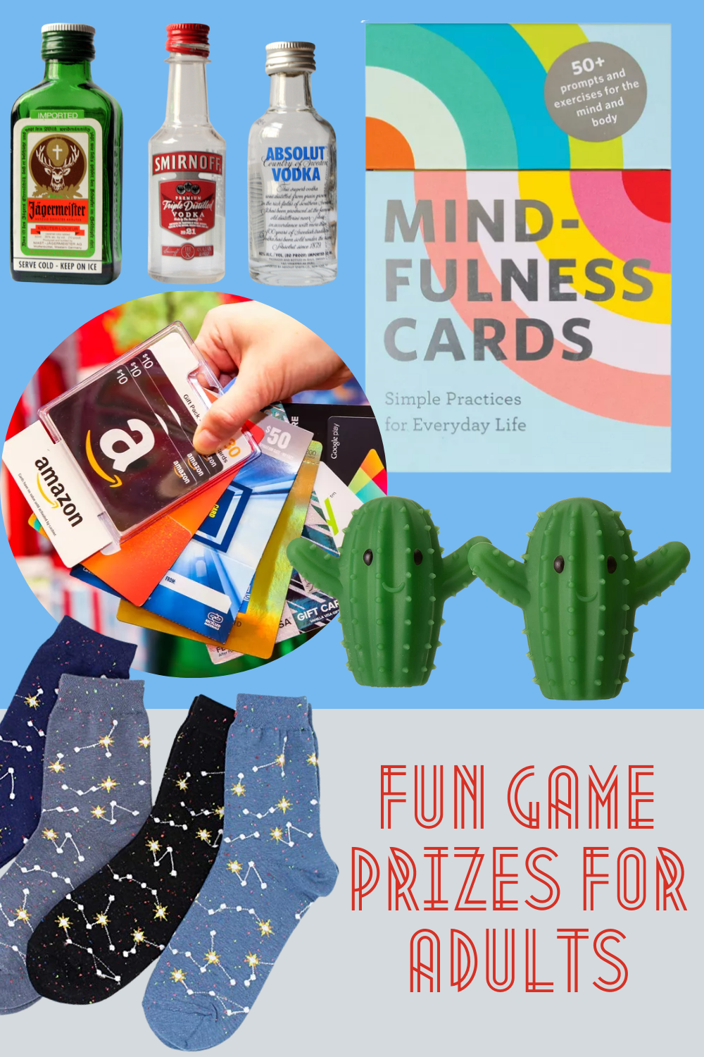 Prizes for Games for Adults