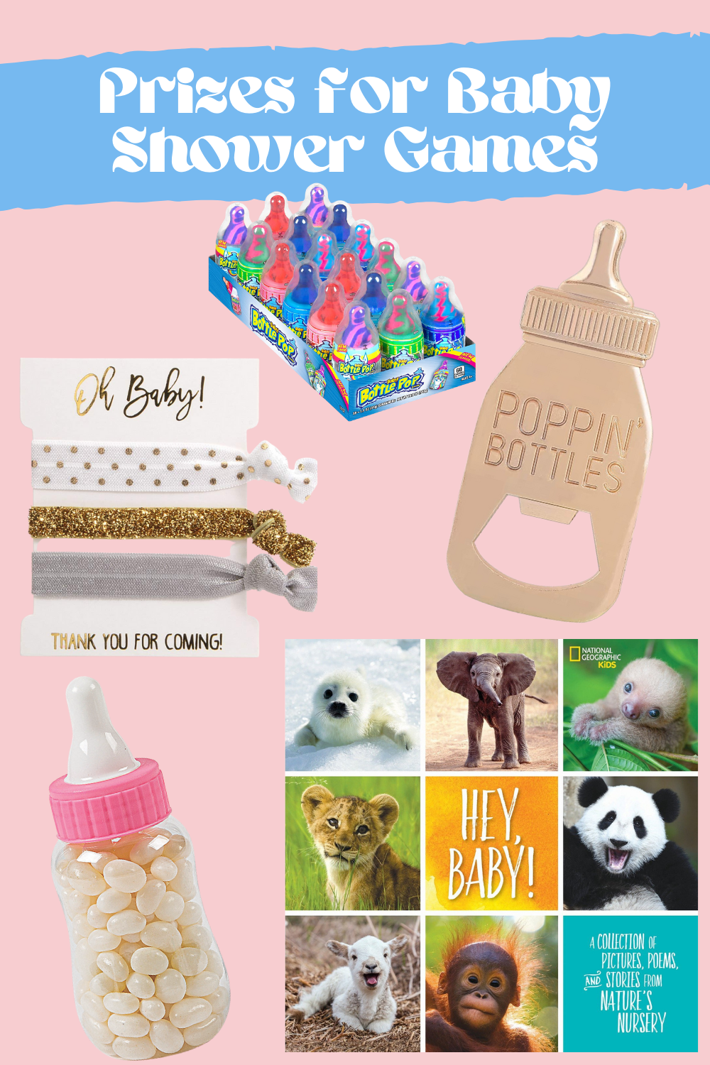 Sweet Baby Shower Games Prize Ideas