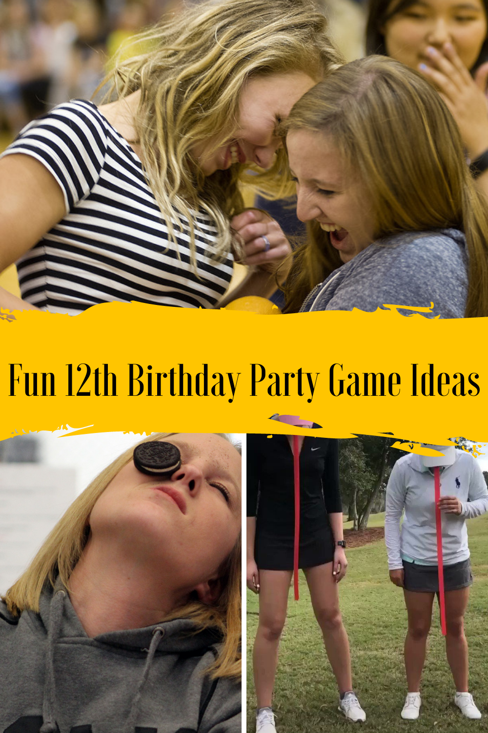12th Birthday Game Ideas for pretweens