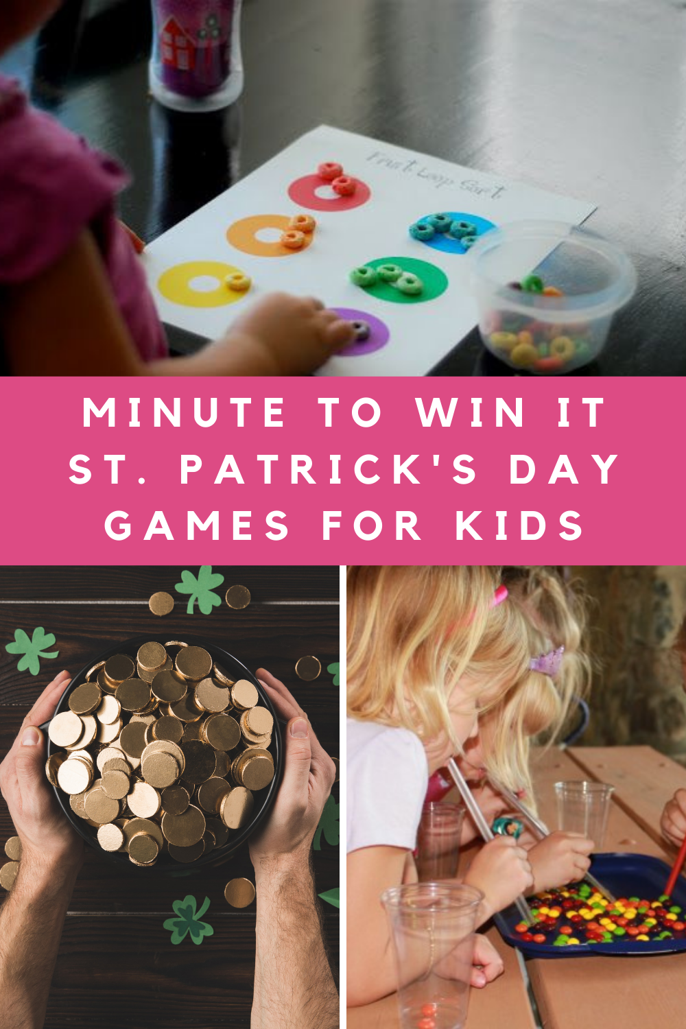 One Minute St. Patricks Day Games for Kids to win it