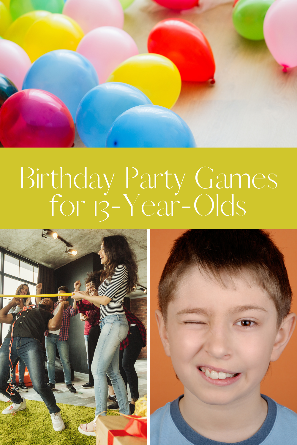 Indoor Party Games for 13 Year Olds