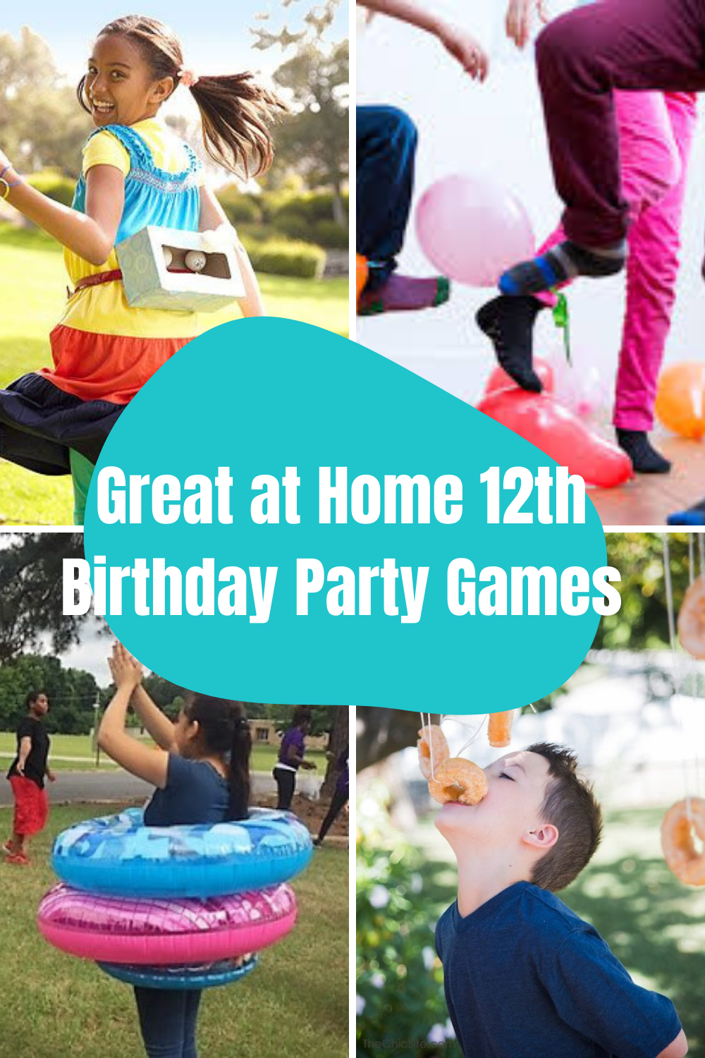 Stay at Home Birthday Games for turning 12