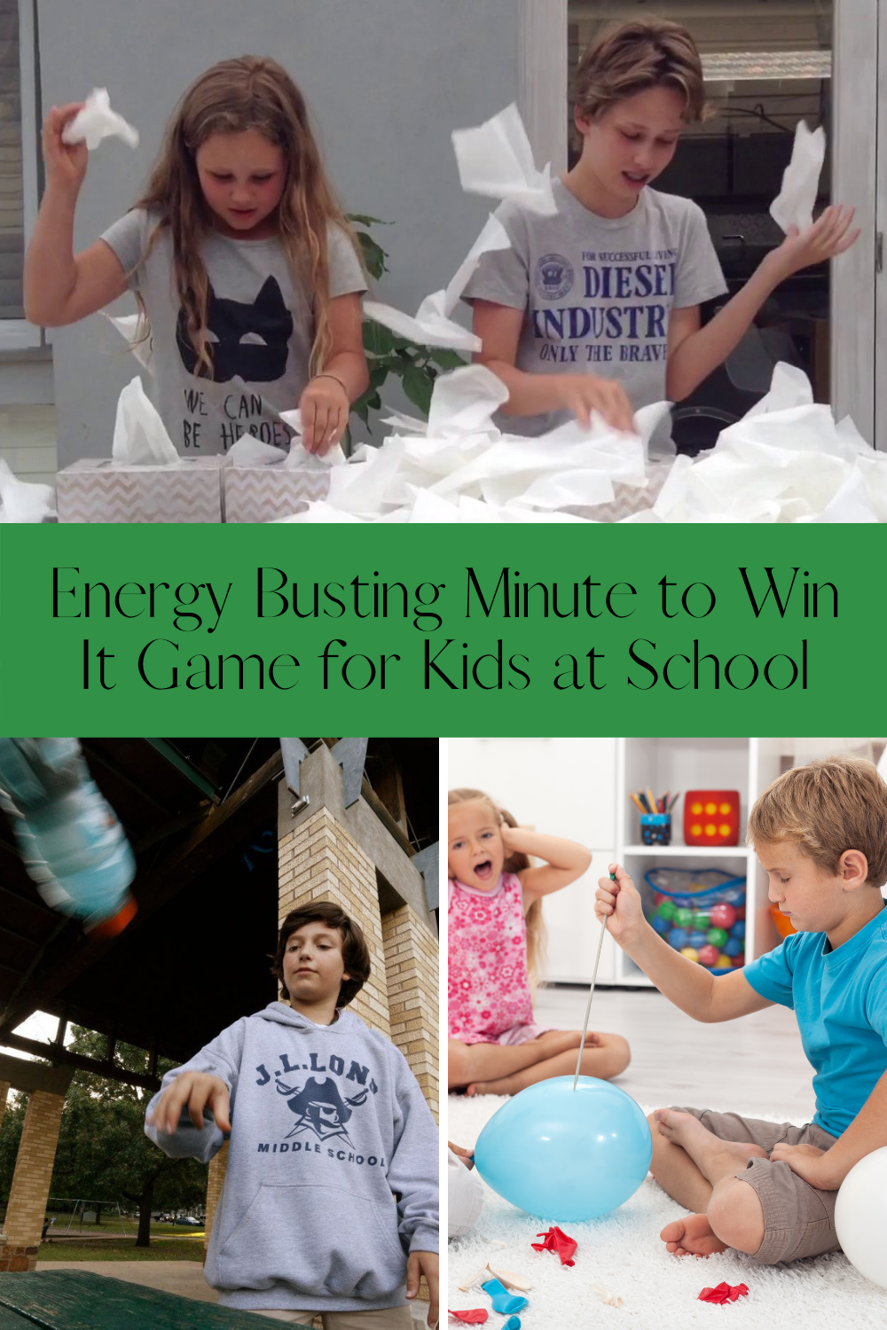 Energy easy games for back to school