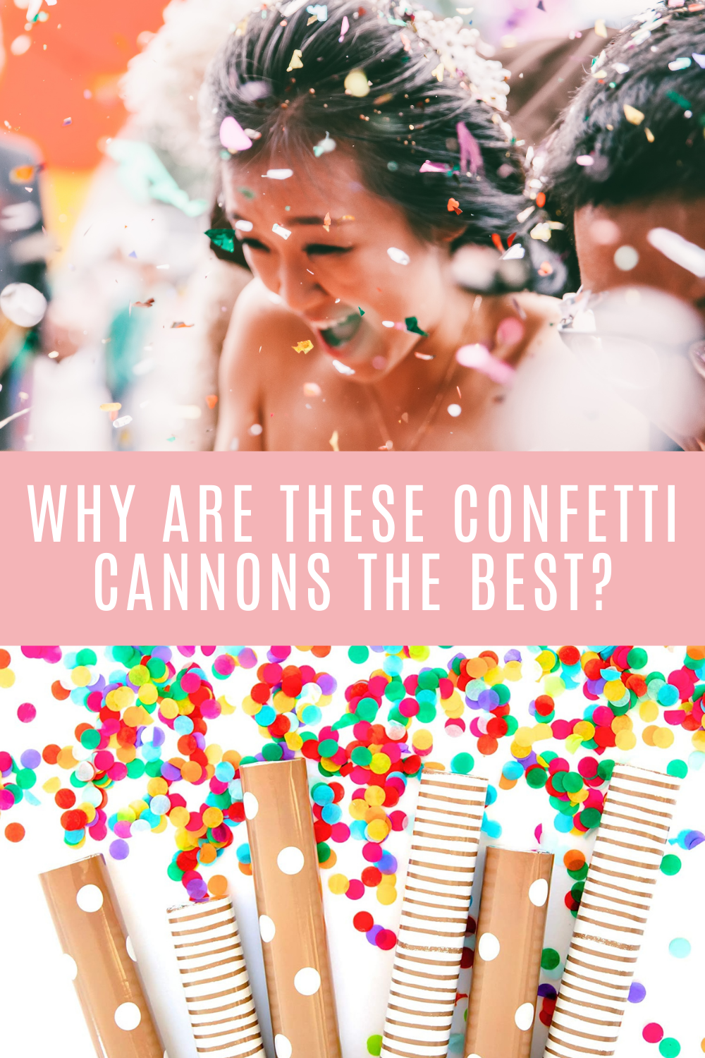 Best Confetti cannons for your wedding send off