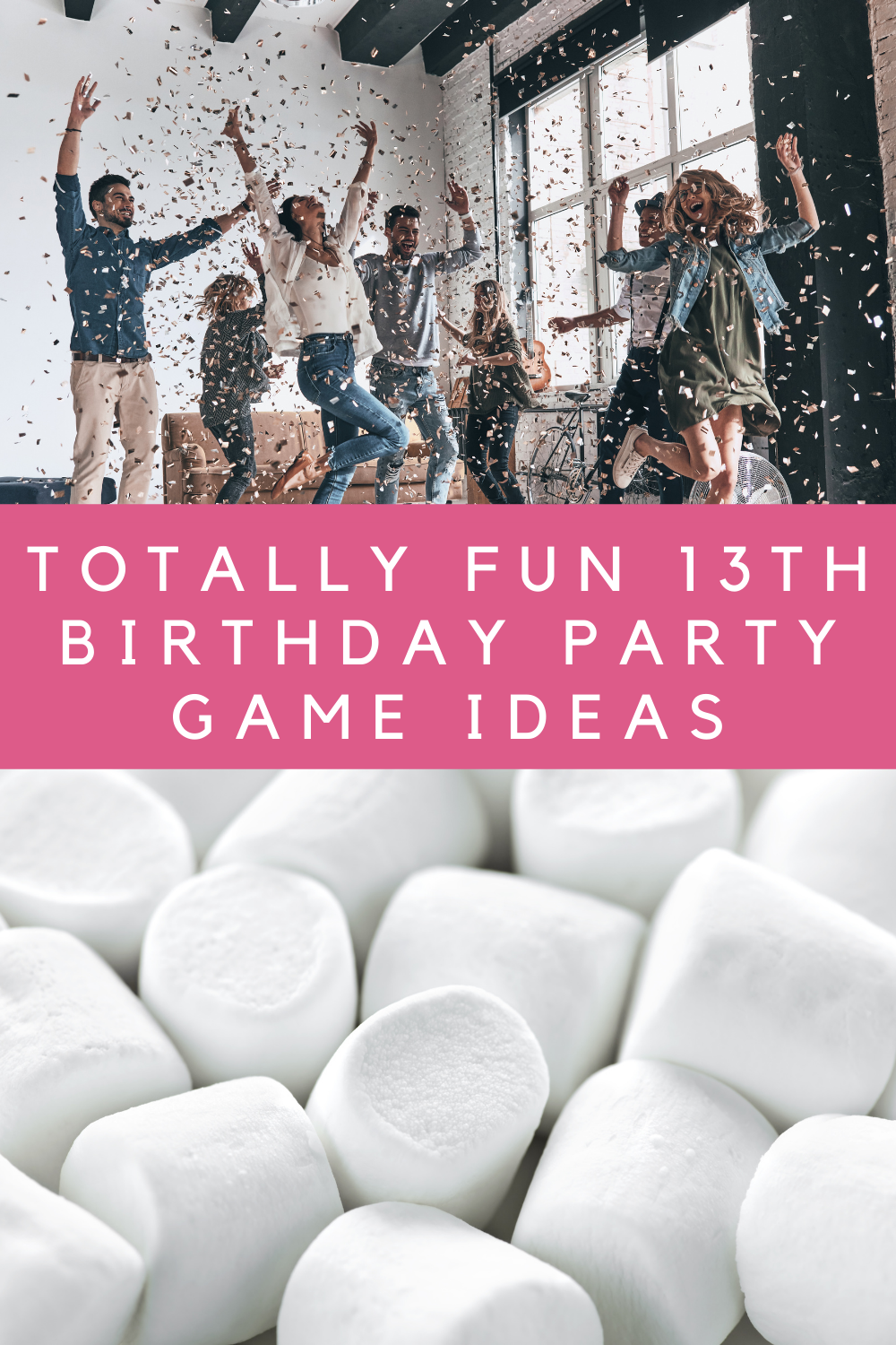 The best 13th Birthday Party Game Ideas