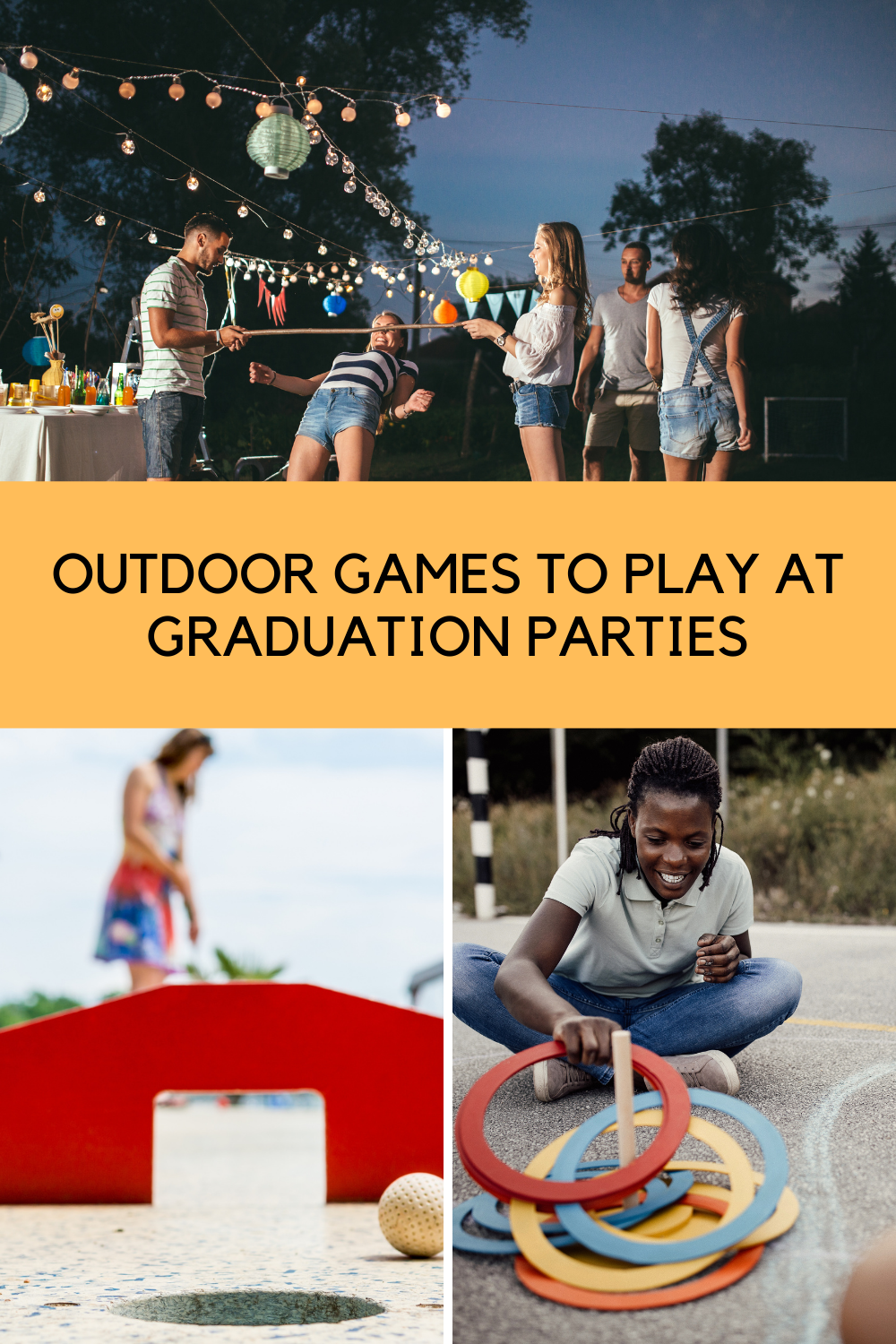 Outdoor Game Ideas For Graduation Parties For Teens