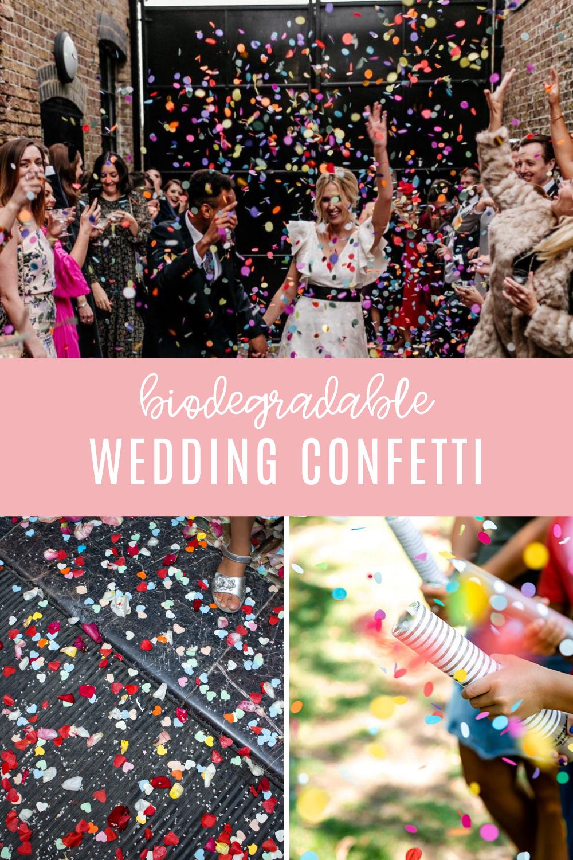 Biodegradable Wedding Confetti