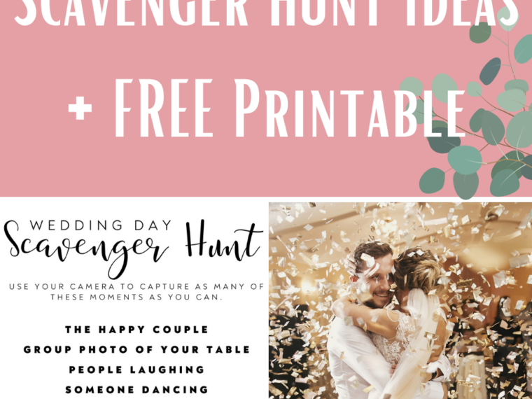 Wedding Scavenger Hunt